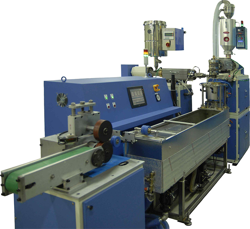 Cartheter tube Extrusion Line